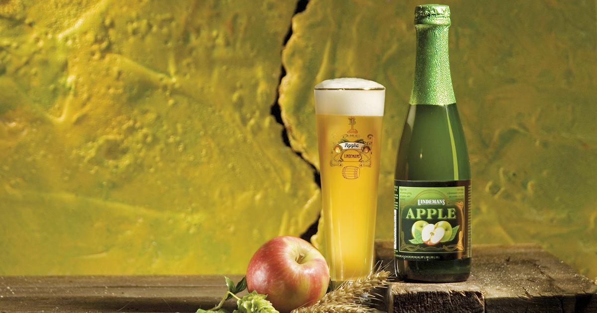 Produktbild av äpple-öl