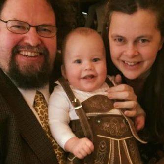 Familjelycka! Foto: Privat